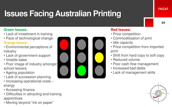 Issues Facing Australian Printing