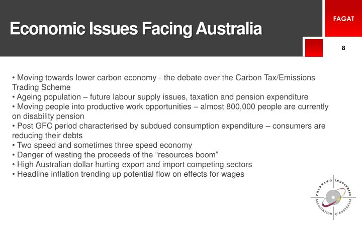 Economic Issues Facing Australia