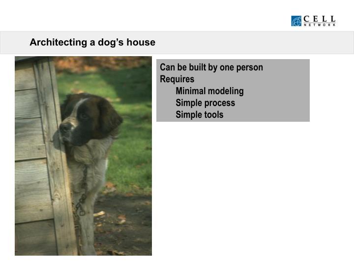 Architecting a dog's house