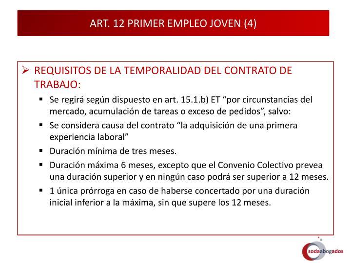 ART. 12 PRIMER EMPLEO JOVEN (4)