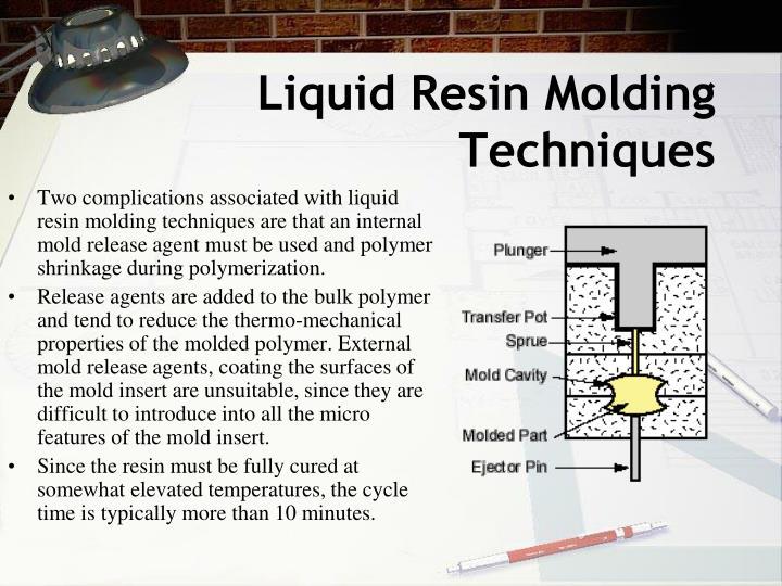 Liquid Resin Molding Techniques