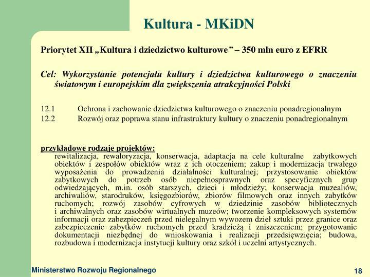 Kultura - MKiDN