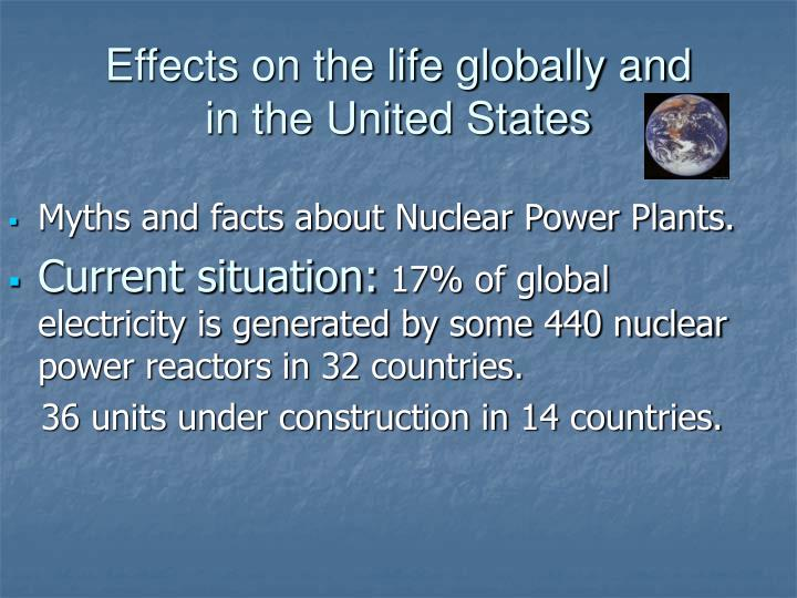 Myths and facts about Nuclear Power Plants.