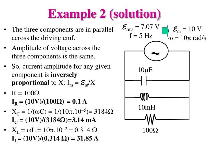 Example 2 (solution)