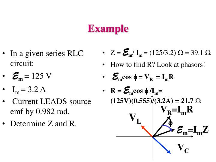 In a given series RLC circuit: