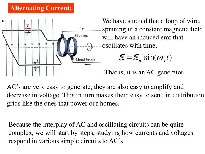Alternating Current: