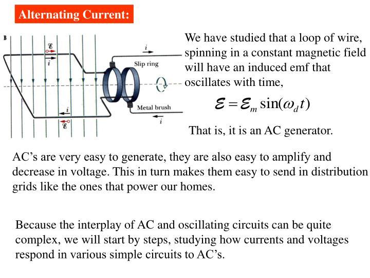 Alternating Current: