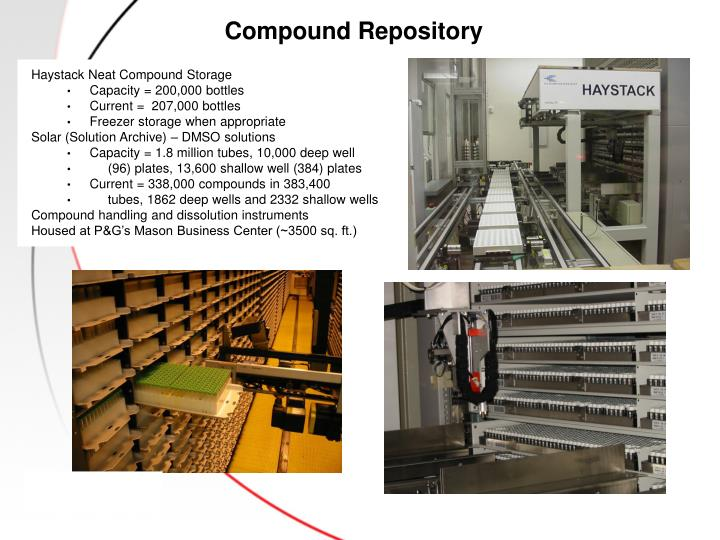 Compound Repository