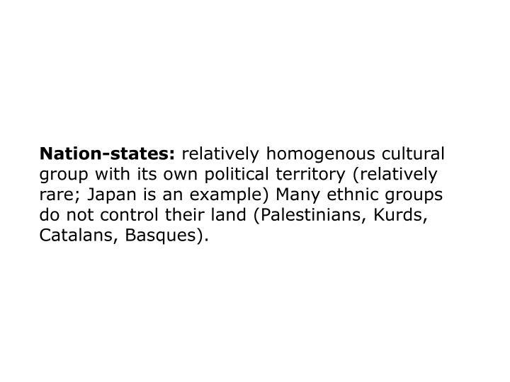 Nation-states: