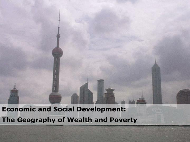Economic and Social Development: