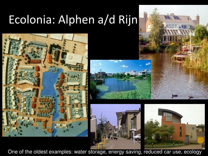 Ecolonia: Alphen a/d Rijn