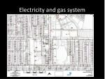 electricity and gas system