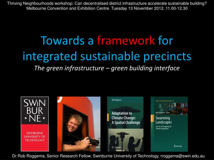 Thriving Neighbourhoods workshop: Can decentralised district infrastructure accelerate sustainable building?