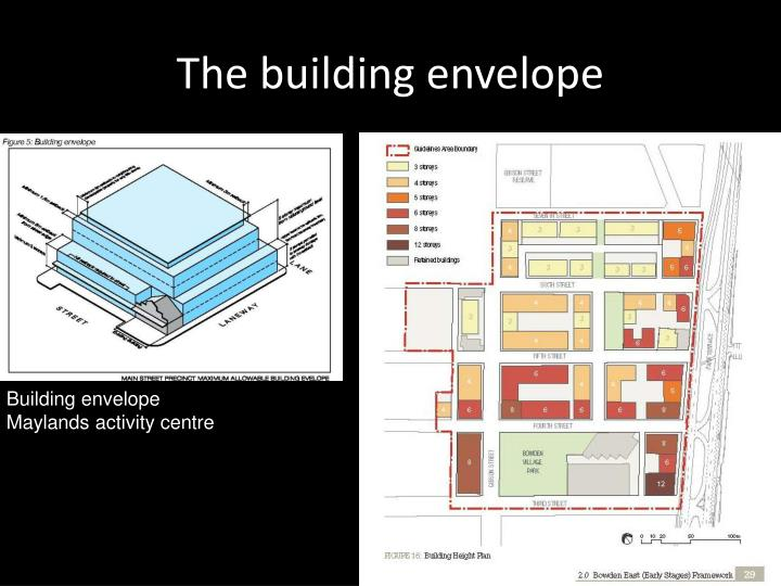The building envelope