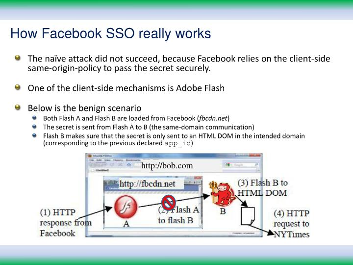 How Facebook SSO really works