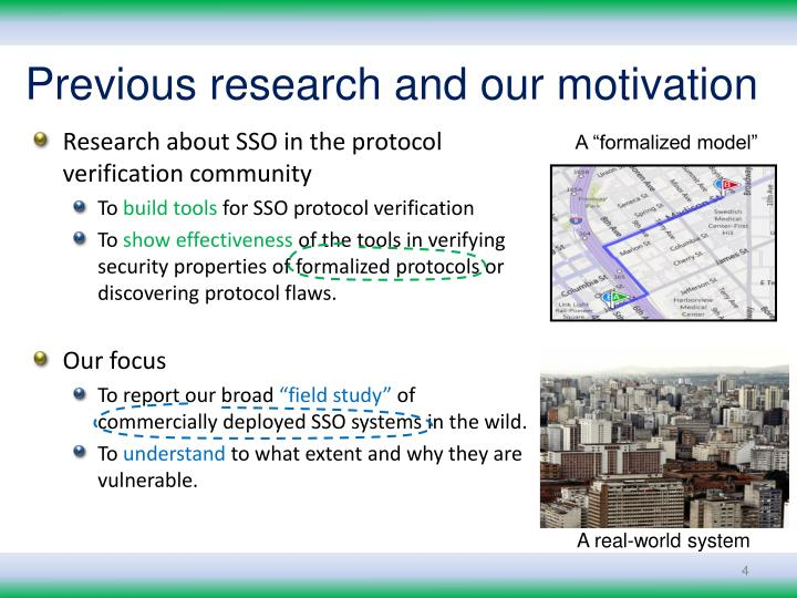 Previous research and our motivation