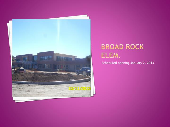 Broad rock Elem.