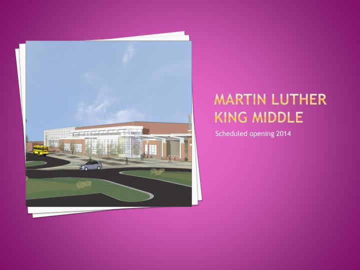 Martin luther king middle
