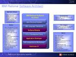 ibm rational software architect