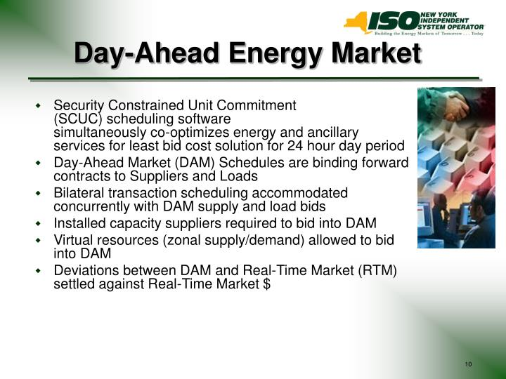 Day-Ahead Energy Market