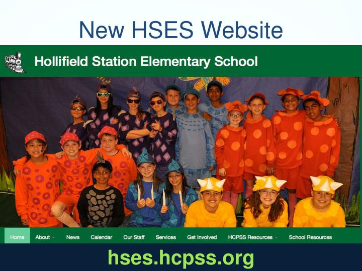 New HSES Website