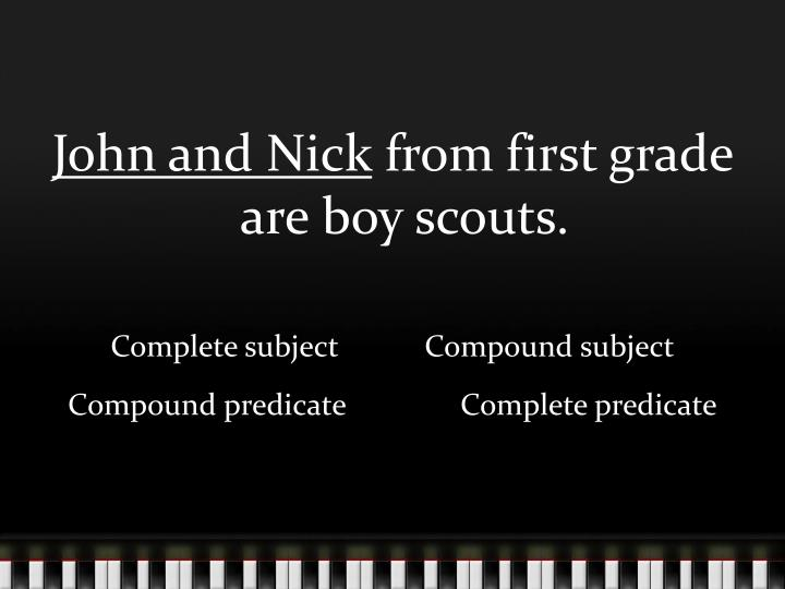 John and Nick