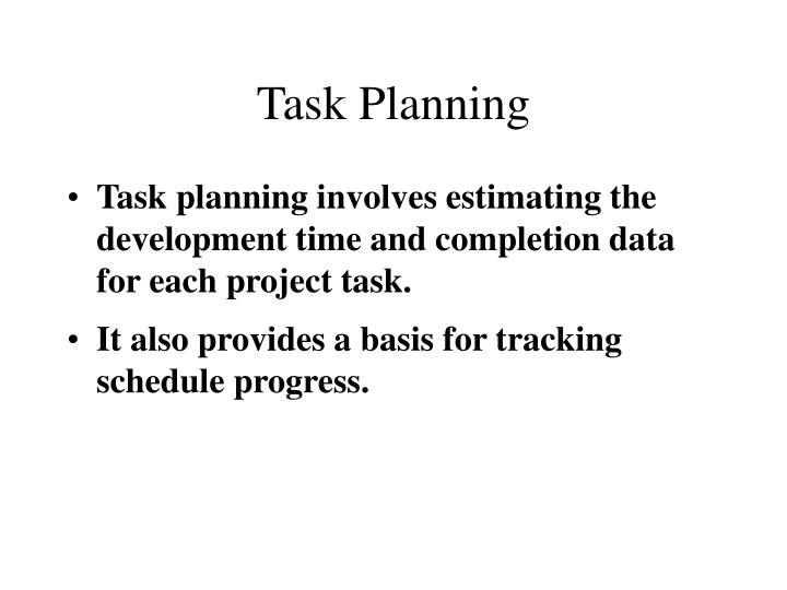 Task Planning