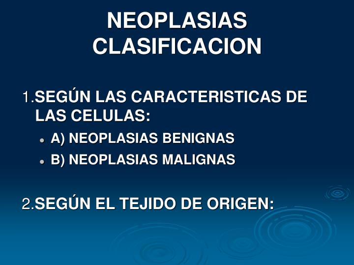 NEOPLASIAS