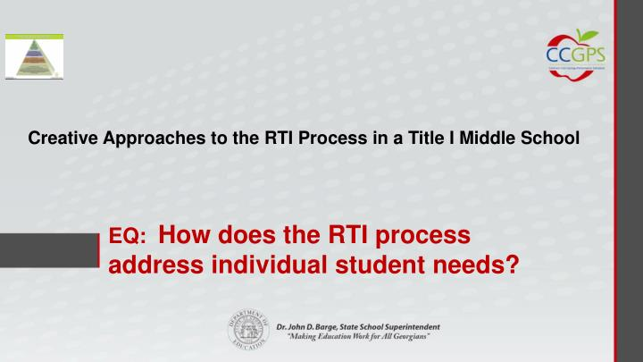 Eq how does the rti process address individual student needs