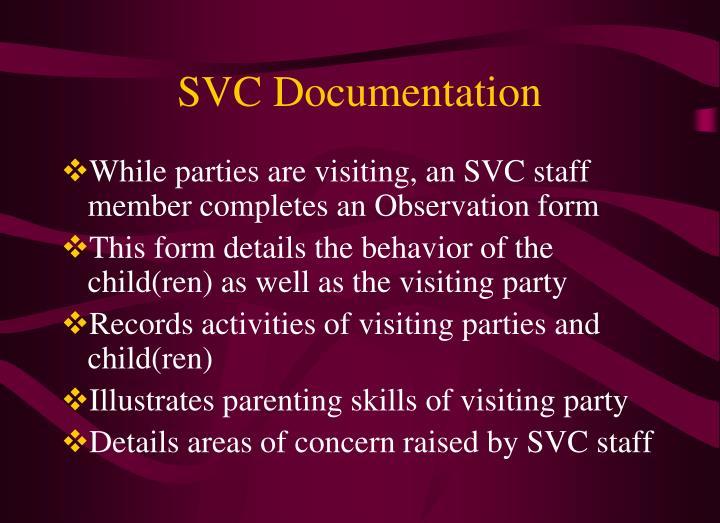 SVC Documentation