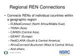 regional ren connections