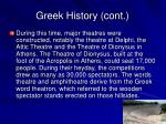 greek history cont