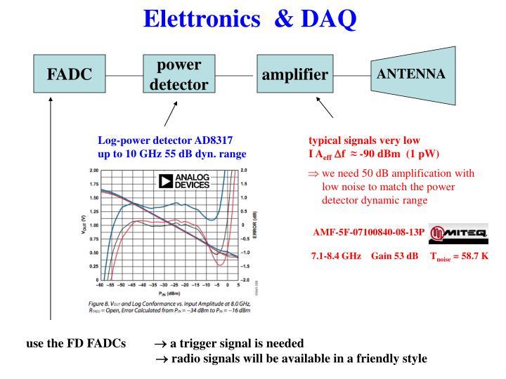 Elettronics  & DAQ