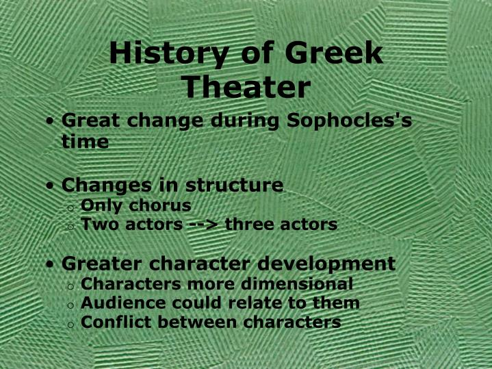 History of Greek Theater