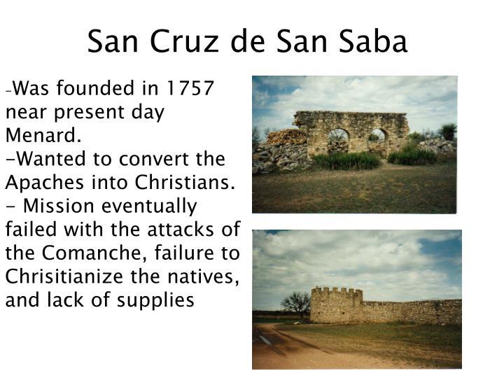 San Cruz de San Saba
