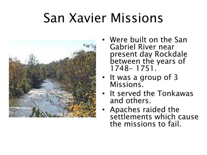 San Xavier Missions