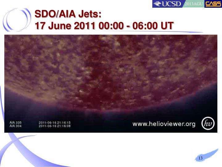 SDO/AIA Jets: