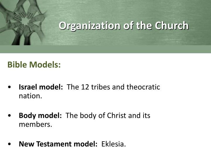 Organization of the Church
