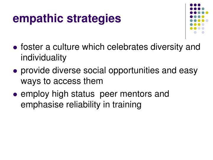empathic strategies
