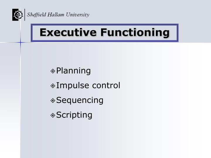 Executive Functioning
