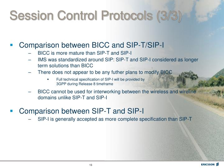 Session Control Protocols (3/3)