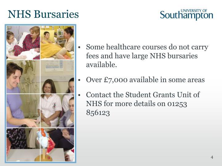 NHS Bursaries