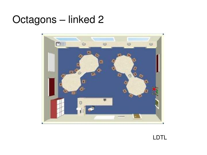 Octagons – linked 2