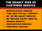 the deadly sins of customer service1