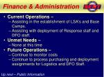 finance administration1