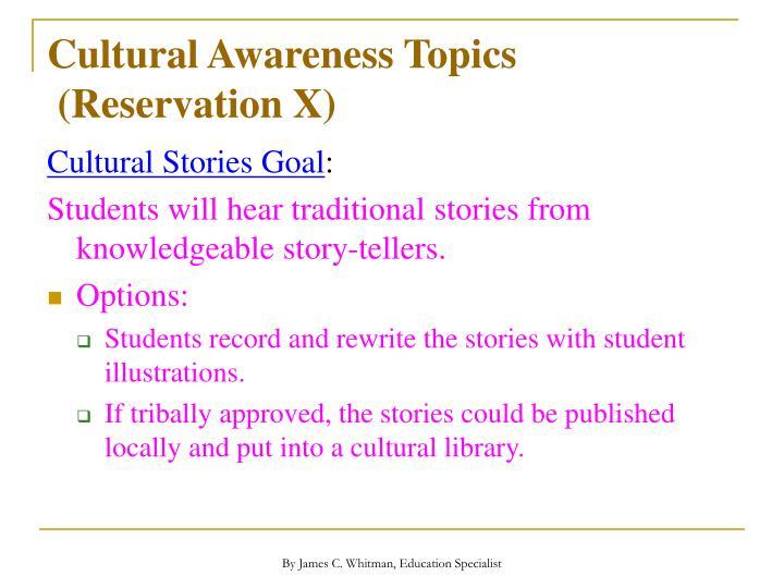 Cultural Awareness Topics