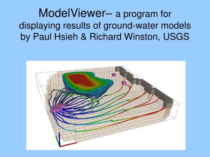 ModelViewer–