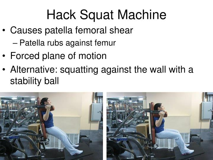 Hack Squat Machine