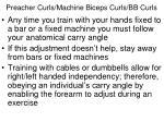 preacher curls machine biceps curls bb curls2