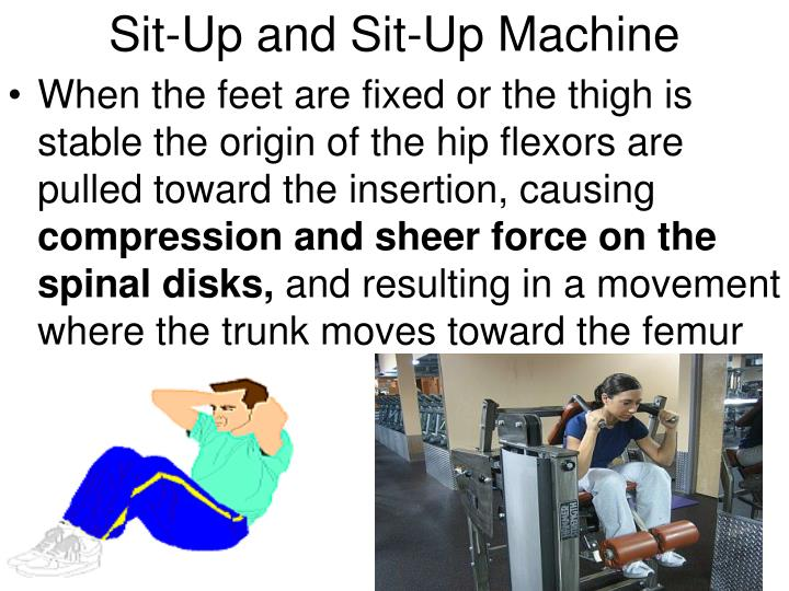 Sit-Up and Sit-Up Machine